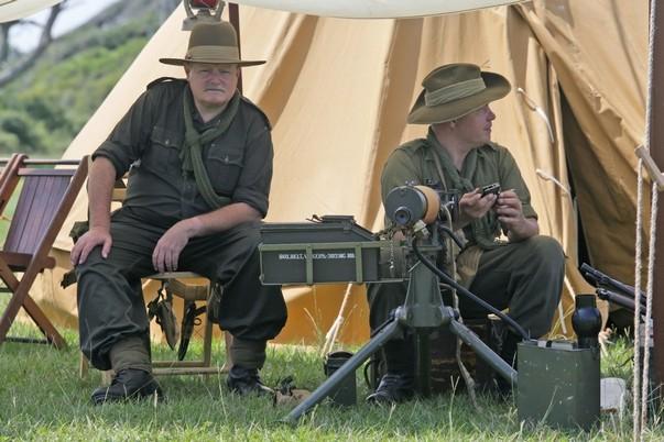 El sábado 15 de octubre, recreadores civiles y militares mostrarán la vida del típico soldado de la Segunda Guerra Mundial que prestó servicios en Fort Fisher, Carolina del Norte